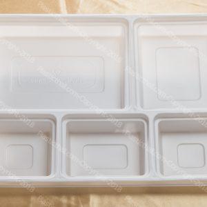 5 compartment disposable plastic plates 4 & Gold 9 Compartment Plate - PlasticThali.com - Free shipping Virgin ...