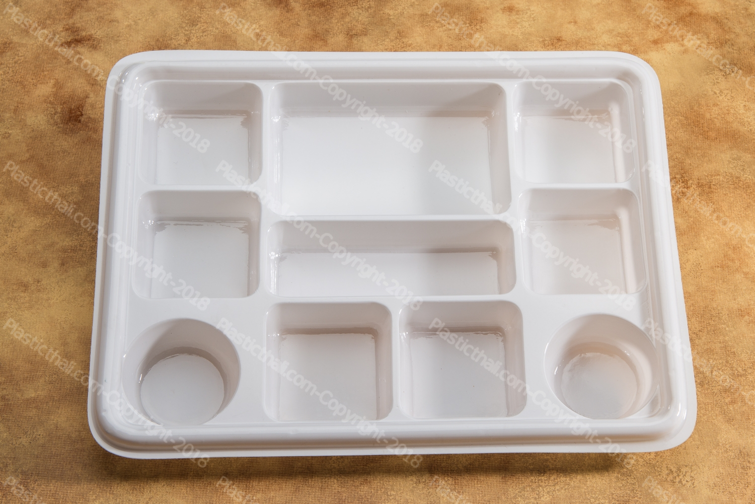 6 compartment disposable plastic plates 7 & White 10 Compartment Plate - PlasticThali.com - Free shipping ...